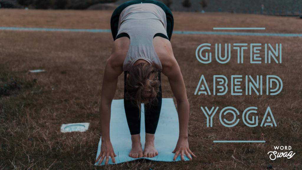 Guten Abend Yoga | After Work | 15 Minuten